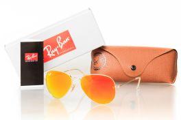 Солнцезащитные очки, Очки RAY BAN Модель 3025orange-g