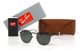 Солнцезащитные очки, Ray Ban Round Metal 3447-black-b